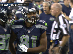 Video - Seattle Seahawks wide receiver Golden Tate's big punt return