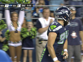 Video - Seattle Seahawks quarterback Russell Wilson throws for second TD