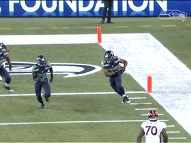 Video - Seattle Seahawks safety DeShawn Shead picks off Osweiler