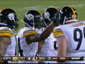 Video - Pittsburgh Steelers cornerback Ike Taylor recovers fumble