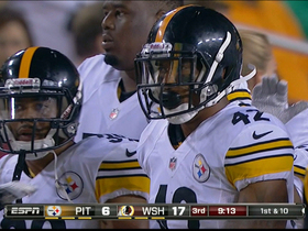 Video - Pittsburgh Steelers safety Da'Mon Cromartie-Smith intercepts Grossman