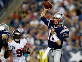 Video - New England Patriots quarterback Tom Brady looking sharp