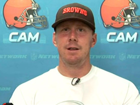 Video - Cleveland Browns quarterback Brandon Weeden reacts to being named starting QB