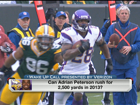 Faulk: It's possible Peterson reaches 2,500 yards