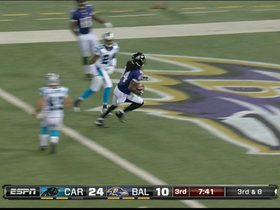 Video - Baltimore Ravens wide receiver Marlon Brown 24-yard touchdown reception