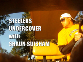 Video - NFL Fan Pass: Pittsburgh Steelers undercover with Shaun Suisham