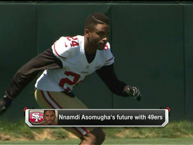 Video - Cornerback Nnamdi Asomugha's future with San Francisco 49ers