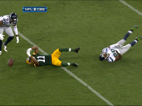 Video - Seattle Seahawks recover Green Bay Packers fumble