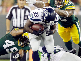 Video - Seattle Seahawks running back Christine Michael takes it in from 43 yards out
