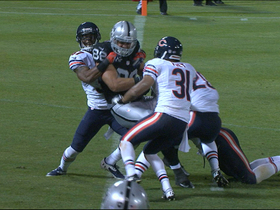 Video - Oakland Raiders tight end Nick Kasa catches zip line pass from Terrelle Pryor for TD
