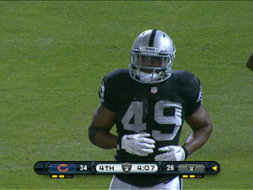 Video - Oakland Raiders Matt McGloin tosses TD to fullback Jamize Olawale