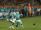 Watch: Dolphins' muffed punt recovered by the Buccaneers