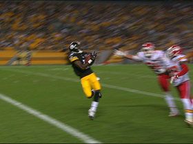 Video - Pittsburgh Steelers wide receiver Markus Wheaton's 34-yard touchdown catch