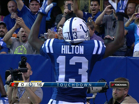 Video - Indianapolis Colts wide receiver T.Y. Hilton 8-yard TD
