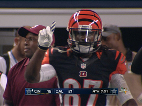 Video - Cincinnati Bengals wide receiver Cobi Hamilton touchdown dive