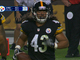 Watch: Polamalu recovers fumble