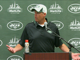 Video - New York Jets coach Rex Ryan loses his cool in postgame media session