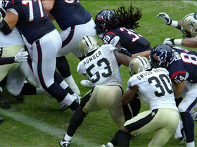 Video - New Orleans Saints make goal-line stop on 4th down
