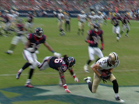 Video - New Orleans Saints wide receiver Andy Tanner tallies second touchdown catch
