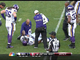 Watch: Williams injured after low block