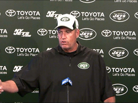 Video - New York Jets quarterback Mark Sanchez's injury doesn't change a thing