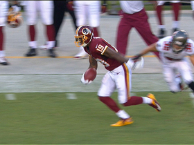 Video - Washington Redskins wide receiver Dezmon Briscoe 66-yard reception
