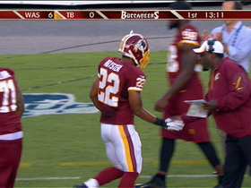 Video - Washington Redskins running back Evan Royster 1-yard TD run