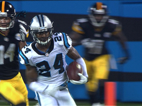 Video - Josh Norman 70-yard INT return
