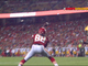 Watch: Hemingway catches TD pass from rookie Bray