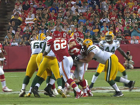 Video - Kansas City Chiefes DE Josh Martin strip sack and recovery