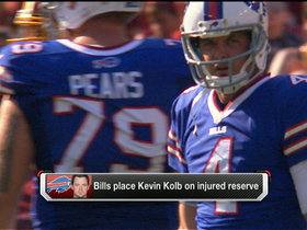 Video - How will Buffalo Bills fare with QB Kevin Kolb on injured reserve?