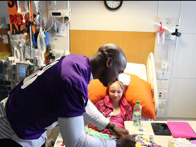 Video - 'In the Community': Adrian Peterson