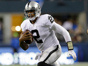 Video - Oakland Raiders quarterback Terrelle Pryor closer to starting?