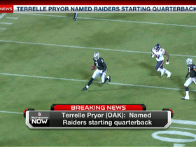 Video - Terrelle Pryor wins the Oakland Raiders' quarterback battle