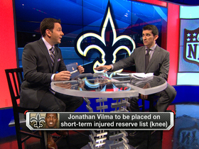 Video - New Orleans Saints linebacker Jonathan Vilma to be placed on short-term IR