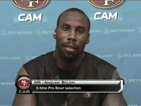 Video - Anquan Boldin talks San Francisco 49ers football