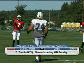 Video - New York Jets QB Geno Smith officially named starter