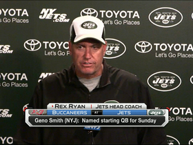 Video - Rex Ryan confident in Geno Smith