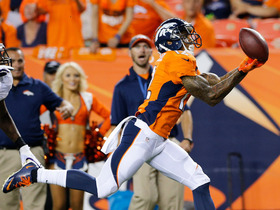 Video - Week 1 Can't-Miss Play: Andre Caldwell's fingertip 28-yard touchdown catch