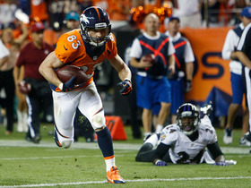 Video - Denver Broncos wide receiver Wes Welker 5-yard touchdown