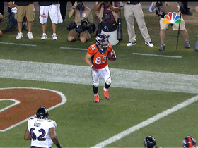 Video - Denver Broncos wide receiver Wes Welker 2-yard touchdown