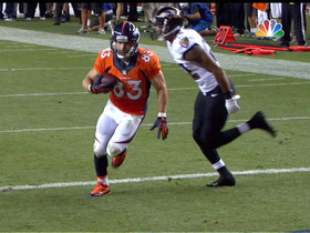 Video - Week 1: Denver Broncos wide receiver Wes Welker highlights
