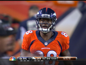 Video - Denver Broncos wide receiver Demaryius Thomas makes a nifty move