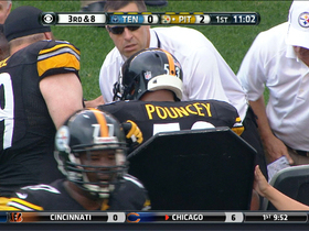Video - Pittsburgh Steelers center Maurkice Pouncey carted off field