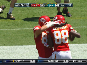 Video - Kansas City Chiefs wide receiver Junior Hemingway 3-yard touchdown