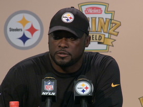 Video - Steelers postgame press conference