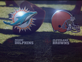 Watch: Week 1: Dolphins vs. Browns highlights