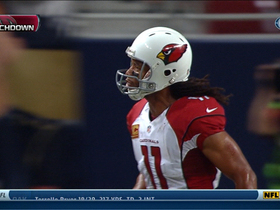 Video - Arizona Cardinals wide receiver Larry Fitzgerald 24-yard touchdown reception