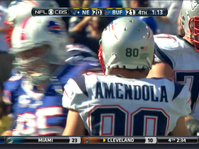 Video - New England Patriots wide receiver Amendola 10-yard reception