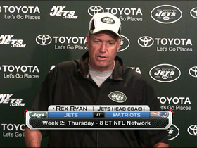 Video - New York Jets head coach Rex Ryan concerned with the New England Patriots?